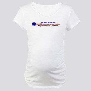 Air/Blood... Maternity T-Shirt